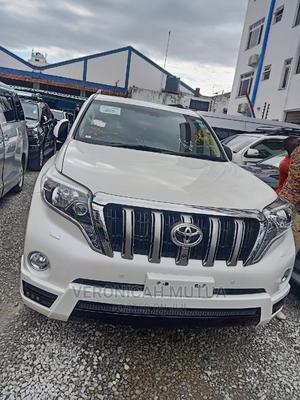 Toyota Land Cruiser Prado 2015 White | Cars for sale in Mombasa, Tononoka