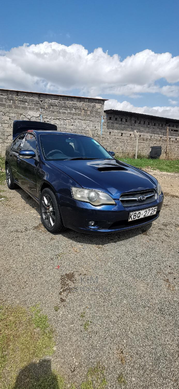 Subaru Legacy 2003 Blue