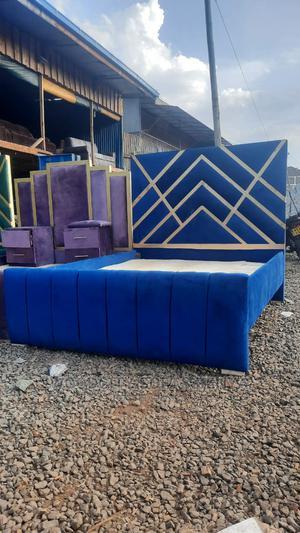 6*6 Modern Classic Bed | Furniture for sale in Nairobi, Kahawa