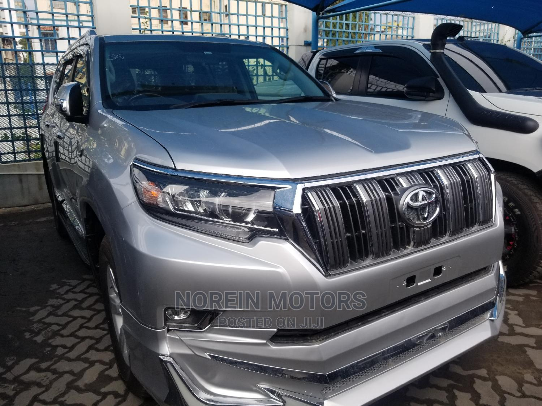Toyota Land Cruiser Prado 2015 Silver