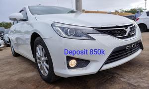 Toyota Mark X 2014 White | Cars for sale in Mombasa, Ganjoni