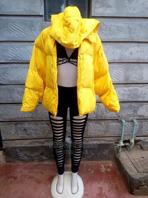 Unisex Yellow Puff Jacket   Clothing for sale in Kiambu, Ruaka