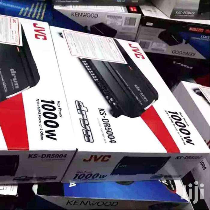 New JVC KS-DR5004 Free 1000W Car Amplifier 4CH Delivery Installation