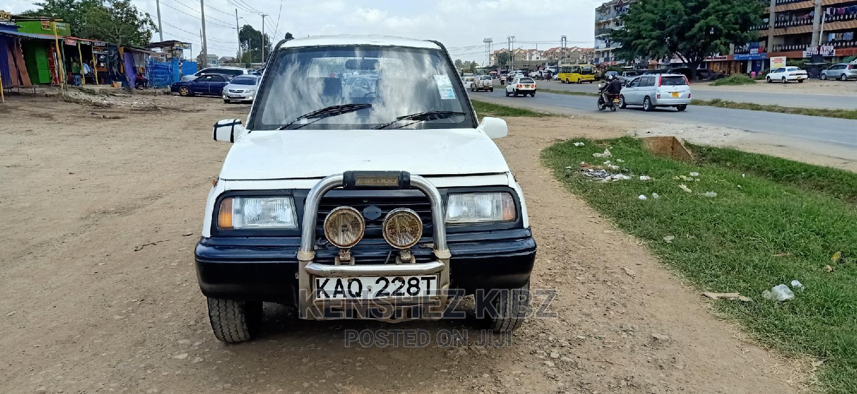 Archive: Suzuki Escudo 1996 White
