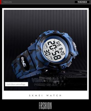 Skmei 1506 Camouflage Blue | Watches for sale in Nairobi, Nairobi Central