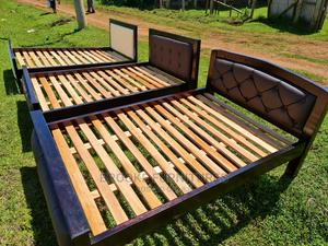 4*6 Beds With Leather Headboards   Furniture for sale in Kericho, Kapkugerwet