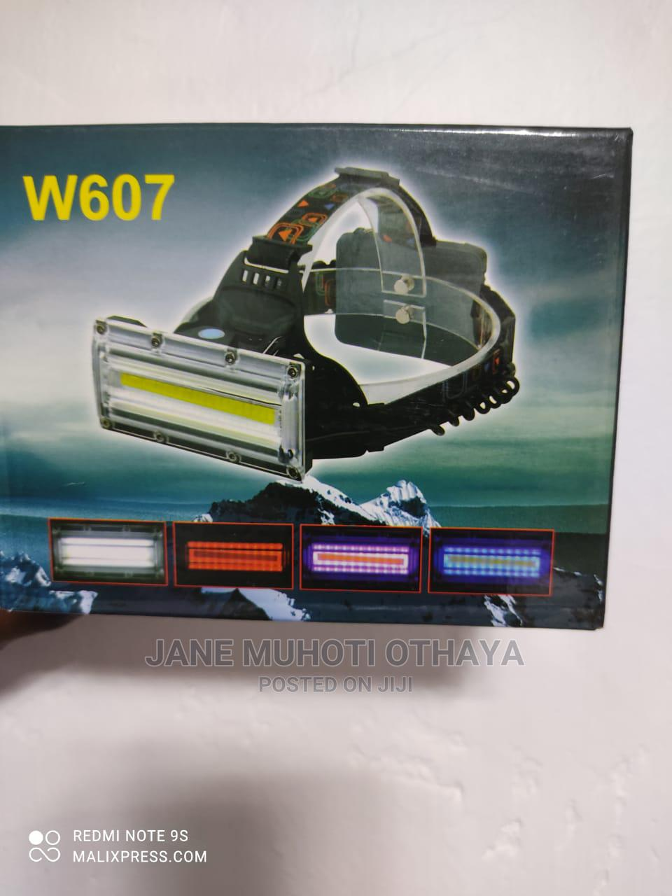 W607 LED Headlamp Rechargeable Batteries | Camping Gear for sale in Nairobi Central, Nairobi, Kenya
