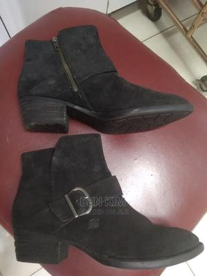 Hand Crafted Ladies Suede Leather Boots 8.   Shoes for sale in Nairobi, Upperhill