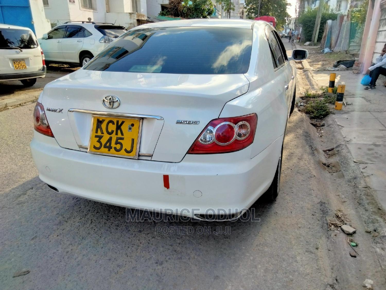 Toyota Mark X 2009 White   Cars for sale in Makadara (Msa), Mombasa, Kenya