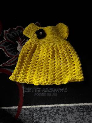 Nice Yellow Crotchet Dress   Children's Clothing for sale in Nairobi, Utawala