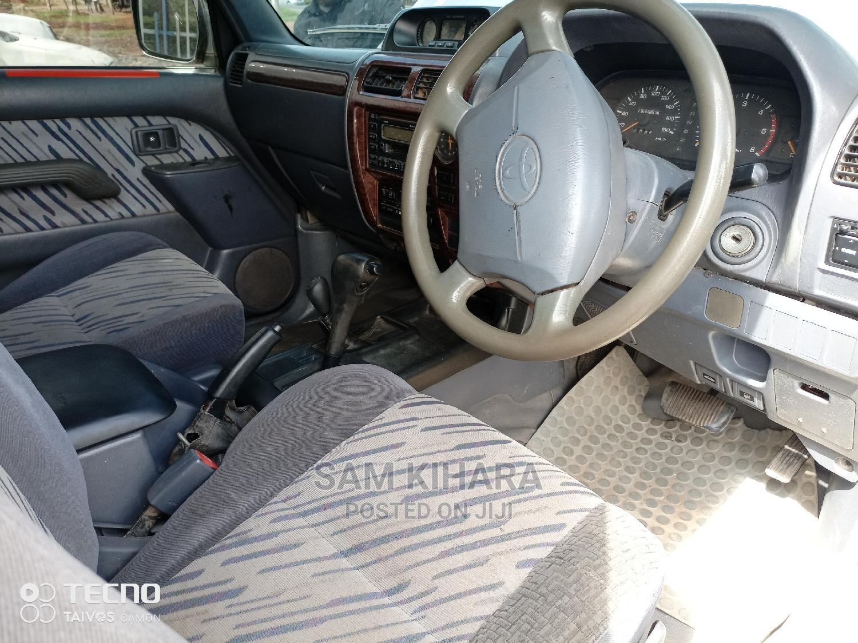Archive: Toyota Land Cruiser Prado 2003 Silver
