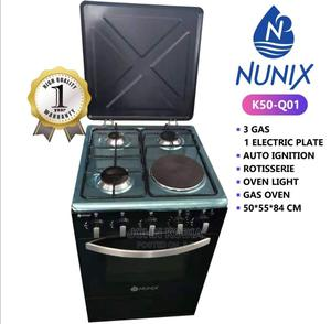 Nunix 3+1 Free Standing Cooker With Free Gas Pipe/Regulator   Kitchen Appliances for sale in Nairobi, Nairobi Central