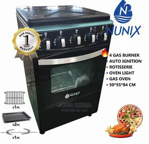 Nunix Cooker 4 Gas Burner   Kitchen Appliances for sale in Nairobi, Nairobi Central