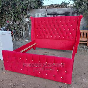6 by 6 Modern Bed | Furniture for sale in Nairobi, Kahawa