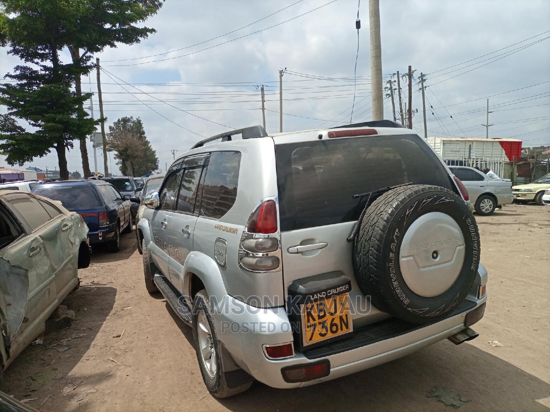 Archive: Toyota Land Cruiser Prado 2006 Silver