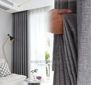 Grey Elegant Curtains   Home Accessories for sale in Nairobi, Nairobi Central