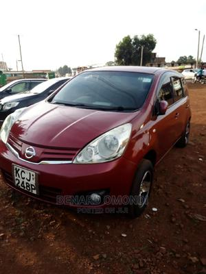 Nissan Note 2009 1.4 Red | Cars for sale in Busia, Marachi Central
