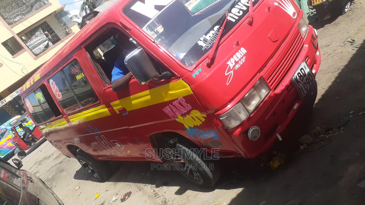 Nissan Matatu 2001 Red   Buses & Microbuses for sale in Mombasa CBD, Mombasa, Kenya