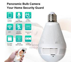 Generic Nanny Camera - Wi-Fi Light Bulb - 360 Degrees | Security & Surveillance for sale in Nairobi, Nairobi Central