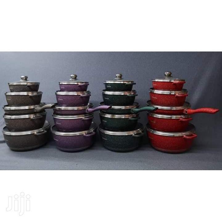 Archive: 12pcs Dessini Granite Coating- Cookware Set