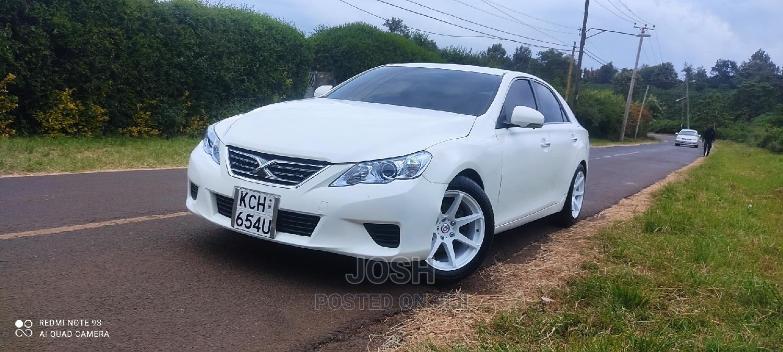Archive: Toyota Mark X 2009 White