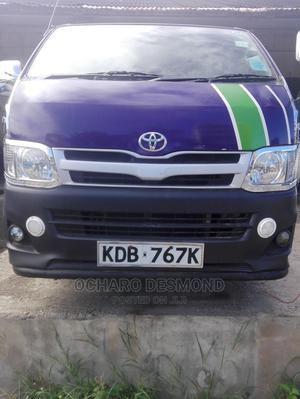 New Toyota Hiace 2013 Auto Diesel Fitted With Seats | Buses & Microbuses for sale in Mombasa, Mombasa CBD
