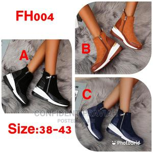 Ladies Suede Leather Ankle Boots   Shoes for sale in Nairobi, Nairobi Central