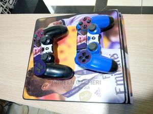Playstion 4 Slim With 2 Controller | Video Game Consoles for sale in Nairobi, Nairobi Central