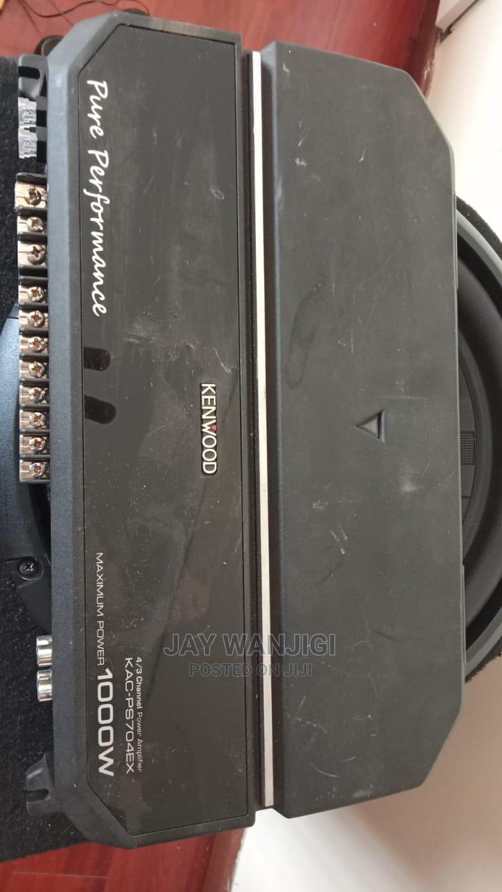 Kenwood KAC-PS704EX Performance Standard 4/3/2ch Amplifier