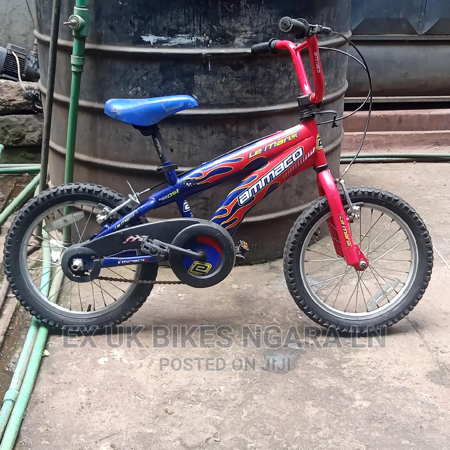 Ex UK Size 16 Bicycle for 4_5 Yr Old