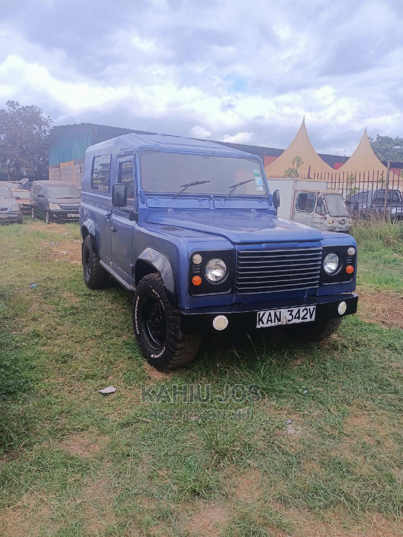 Land Rover Defender 1998 Blue   Cars for sale in Roysambu, Nairobi, Kenya