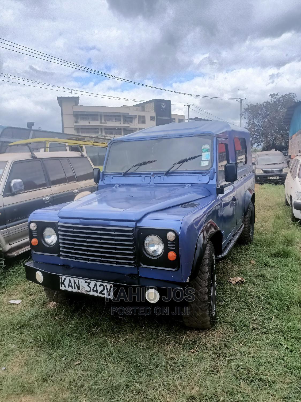 Land Rover Defender 1998 Blue