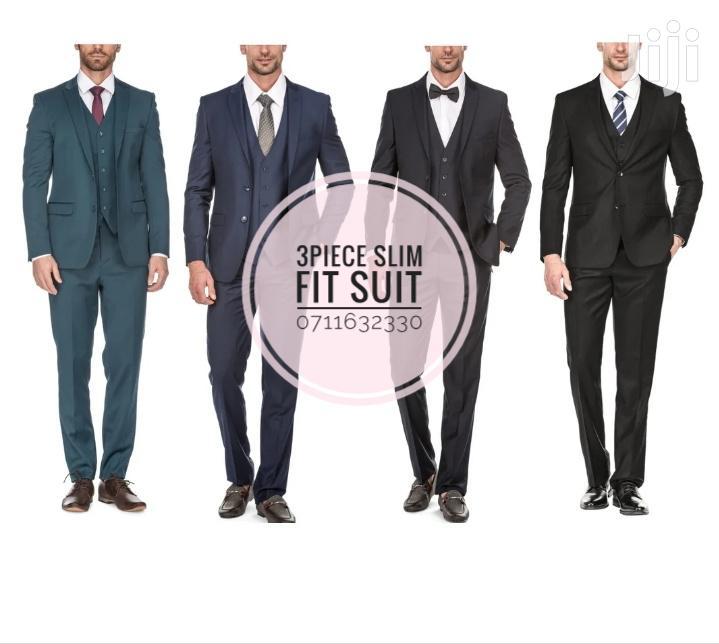 Three Piece Slim Fit Suit