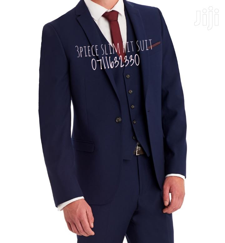 Three Piece Slim Fit Suit   Clothing for sale in Nairobi Central, Nairobi, Kenya