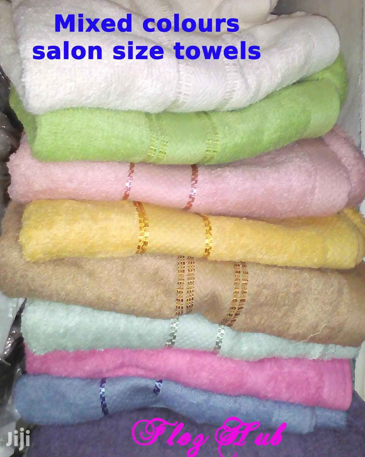 Archive: Mixed Colours Salon Size Towels at 200 250 Each