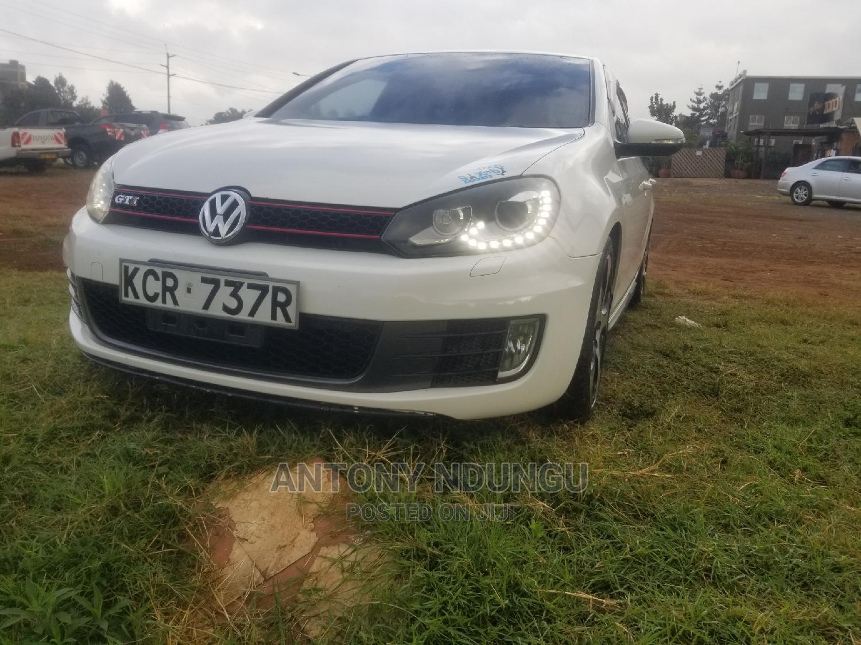 Volkswagen Golf GTI 2012 White   Cars for sale in Ridgeways, Nairobi, Kenya