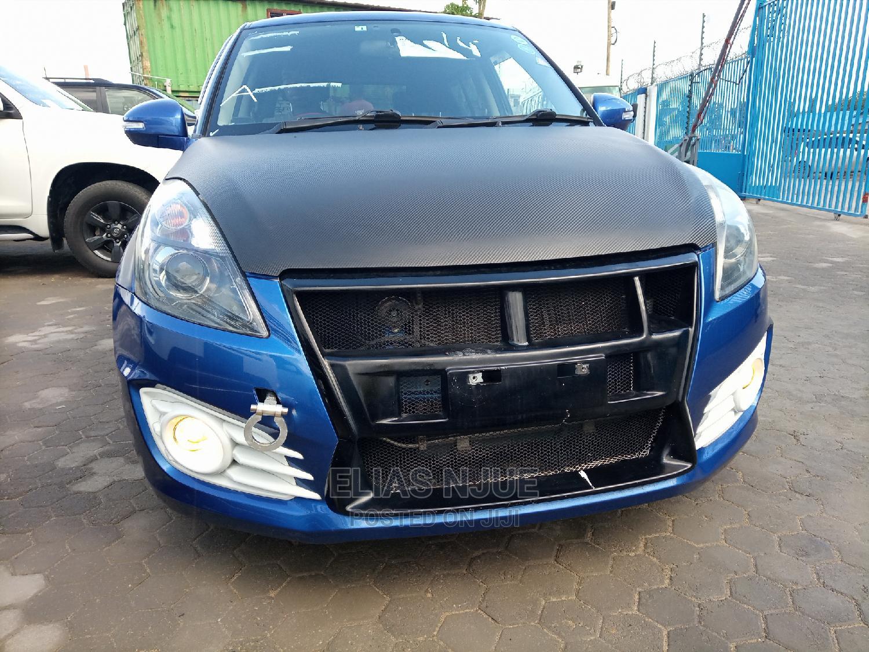 Suzuki Swift 2015 Blue