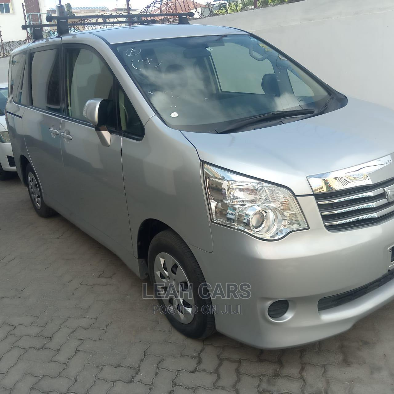 Toyota Noah 2013 Silver   Cars for sale in Ganjoni, Mombasa, Kenya