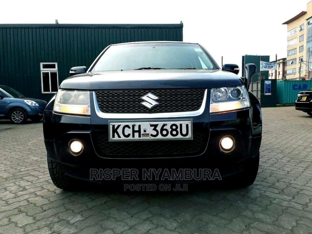 Suzuki Escudo 2009 Black