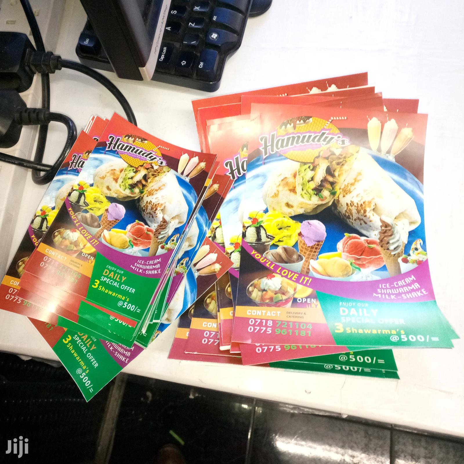 Offset High Quality Flyers Printing | Printing Services for sale in Nairobi Central, Nairobi, Kenya