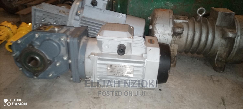 Small Geared Motors