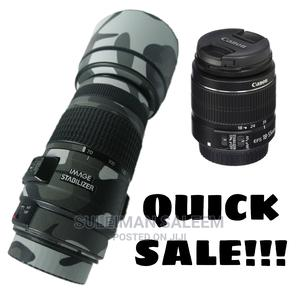 Quick Sale - CANON 70-300mm Is Usm + 18-55mm Combo | Accessories & Supplies for Electronics for sale in Nairobi, Nairobi South