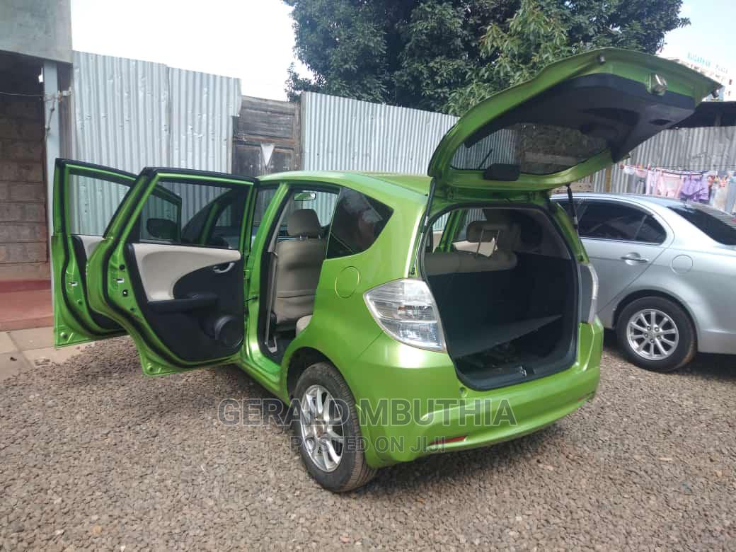Archive: Honda Fit 2011 Green