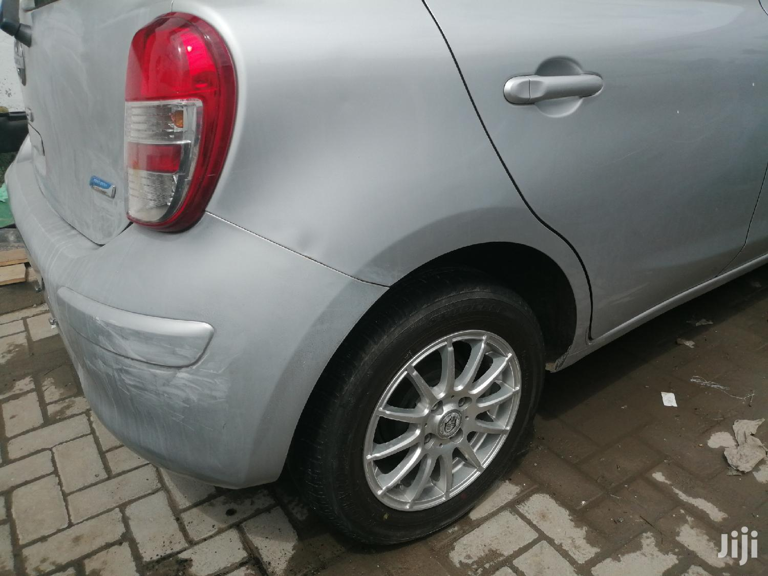Nissan March 2012 Silver | Cars for sale in Moi Avenue, Mombasa, Kenya