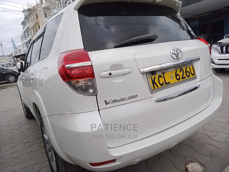 Toyota Vanguard 2010 White | Cars for sale in Mombasa CBD, Mombasa, Kenya