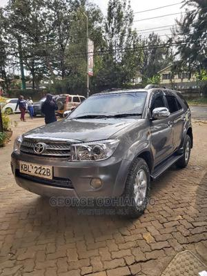 Toyota Fortuner 2009 Brown   Cars for sale in Nairobi, Kilimani
