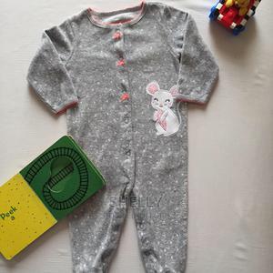 Dark Grey Fleece Romper | Children's Clothing for sale in Nairobi, Utawala