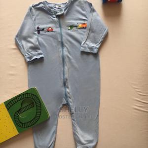 Blue Cotton Romper | Children's Clothing for sale in Nairobi, Utawala