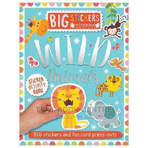 Big Stickers For Little Hands: Wild Animals   Books & Games for sale in Nairobi, Nairobi Central