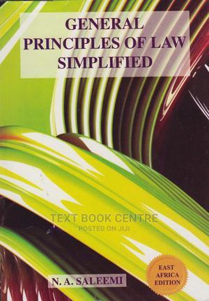 General Principles Of Law Simplified-saleemi   Books & Games for sale in Nairobi, Nairobi Central